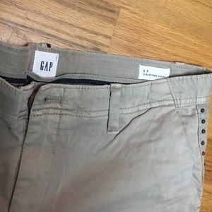 GAP Khaki studded girlfriend chinos